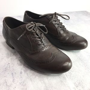 Clark's Collection Brown Oxford Shoes Size 9M